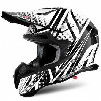 Casque Motocross Airoh Terminator 2.1 S Cleft Black