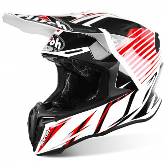 Casque Motocross Airoh Twist Strange Red