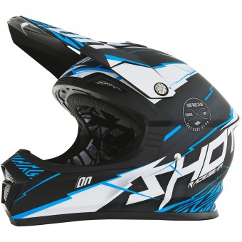 Casque Kids SHOT Furious Infinity Blue Matt Kid
