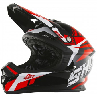 Casque Kids SHOT Furious Squad Red Kid