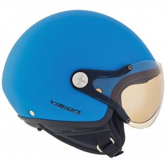 Casque Kids Nexx X60 Kids Vision Plus Explosion Blue Matt