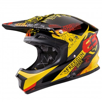 Casque Kids Freegun XP-4 Bandana Yellow Red Kid