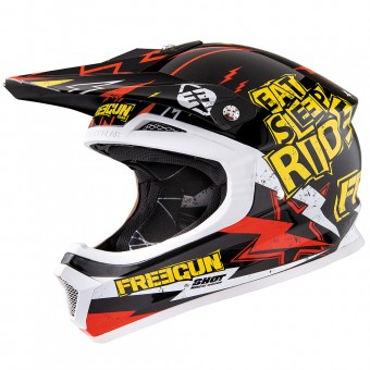 Casque Kids Freegun XP-4 Cause Yellow Red Kid