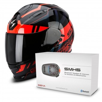 Casque Full Face Scorpion Exo 510 Air Stage Black Red