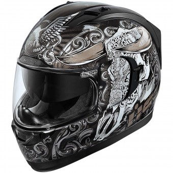 Casque Full Face ICON Alliance GT Honcho Black