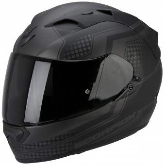 Casque Full Face Scorpion Exo 1200 Air Alias Matt Black Silver