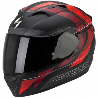 Casque Full Face Scorpion Exo 1200 Air Hornet Matt Neon Red