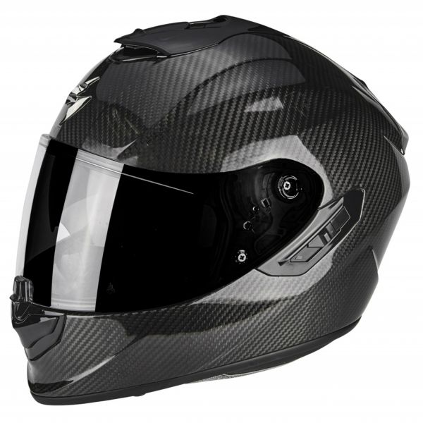 helmet scorpion exo 1400 air carbon solid ready to ship. Black Bedroom Furniture Sets. Home Design Ideas