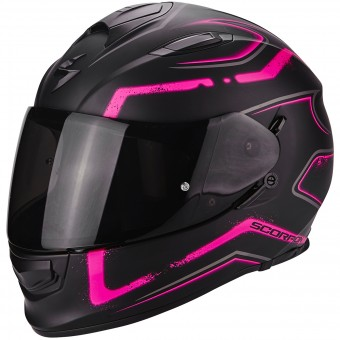 Casque Full Face Scorpion Exo 510 Air Radium Matt Black Pink