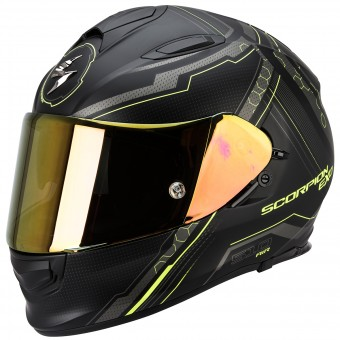 Casque Full Face Scorpion Exo 510 Air Sync Matte Black Neon Yellow