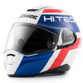 Casque Full Face Blauer Force One 800 White Blue Red