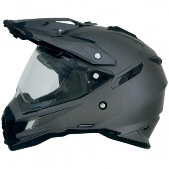 Casque Full Face AFX FX-41DS Frost Grey