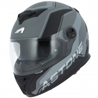 Casque Full Face Astone GT 800 Wire Black Grey
