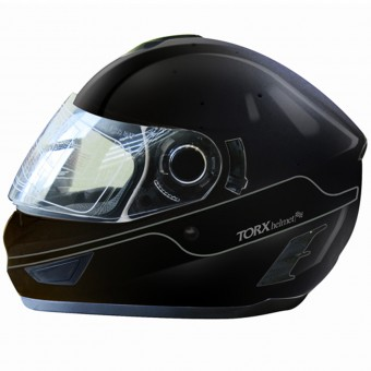 Casque Full Face Torx Manson Black