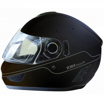 Casque Full Face Torx Manson Matt Black