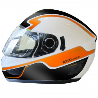 Casque Full Face Torx Manson Orange