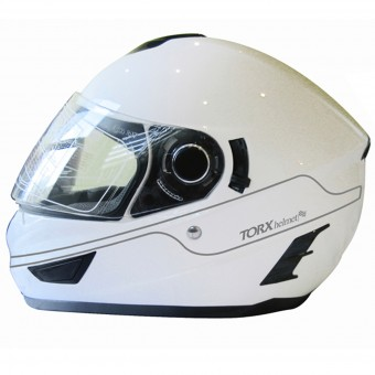 Casque Full Face Torx Manson White