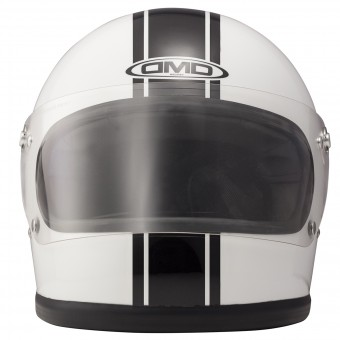 Casque Full Face Dmd Rocket Racing White