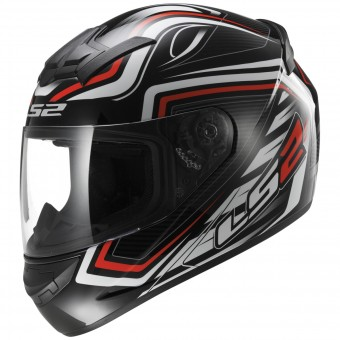 Casque Full Face LS2 Rookie Ranger Black Red FF352