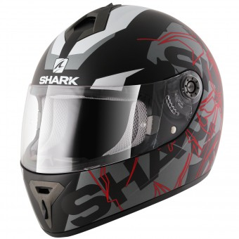 Casque Full Face Shark S600 Volt Mat KAS Pinlock