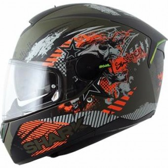 Casque Full Face Shark Skwal Switch Rider Mat GAO