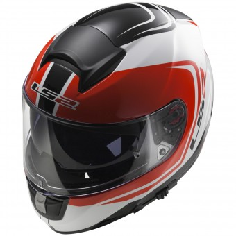Casque Full Face LS2 Vector Wake White Black Red FF397