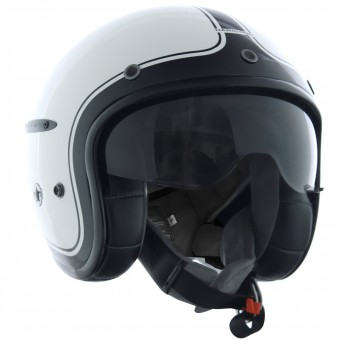 Casque Open Face HARISSON Corsair White Black