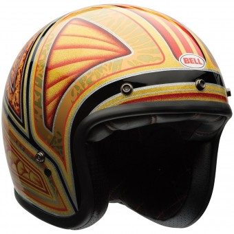 Casque Open Face Bell Custom 500 Tagger Flashback