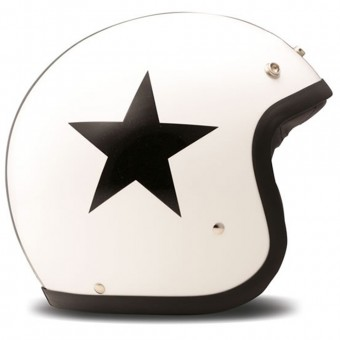 Casque Open Face Dmd Star White
