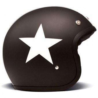 Casque Open Face Dmd Star Black
