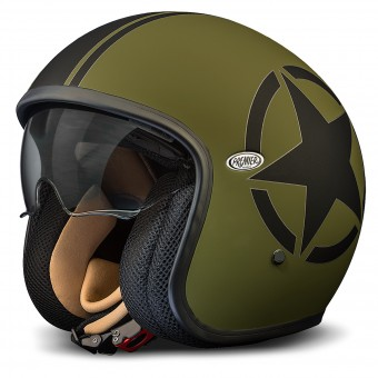 Casque Open Face Premier Vintage Star Military BM
