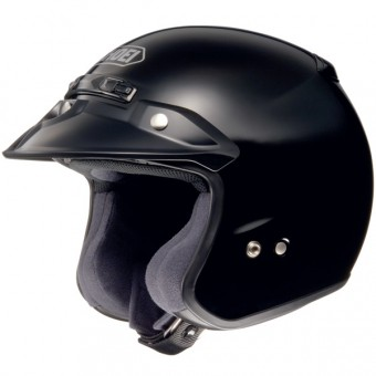 Casque Open Face Shoei RJ Platinum-R Black