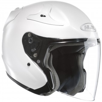 Casque Open Face HJC RPHA Jet Metal White
