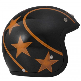Casque Open Face Dmd Stunt Orange
