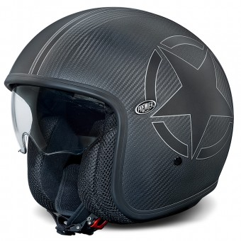 Casque Open Face Premier Vintage Carbon Star BM