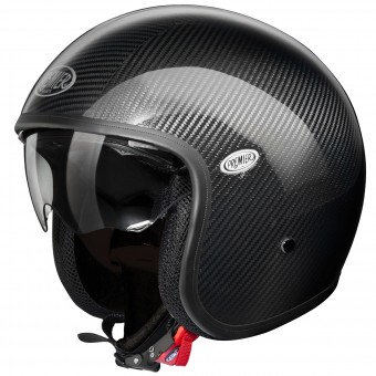 Casque Open Face Premier Vintage Carbon