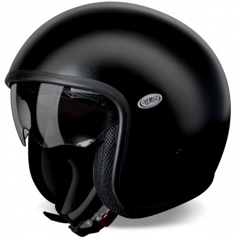 Casque Open Face Premier Vintage Matt Black U9 BM