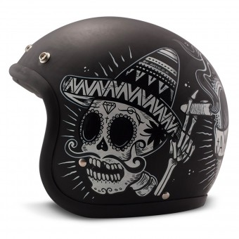 Casque Open Face Dmd Vintage Sin Fin