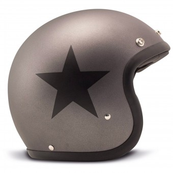 Casque Open Face Dmd Vintage Star Grey