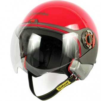 Casque Open Face Brembo B.Jet Bright Red
