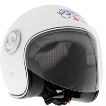 Casque Open Face Edguard Dirt Ed Cherry British