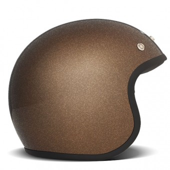 Casque Open Face Dmd Vintage Glitter Bronze