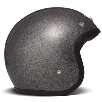 Casque Open Face Dmd Vintage Glitter Black