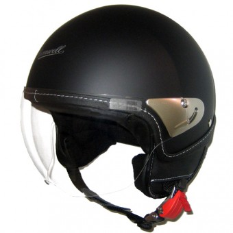 Casque Open Face Cromwell Meteor Legend Matt Black