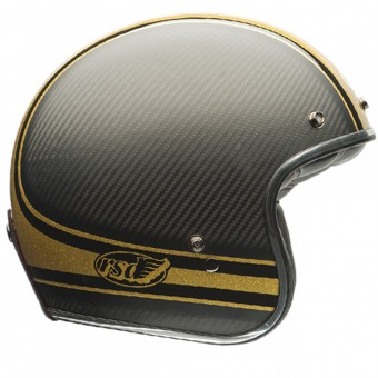 Casque Open Face Bell Custom 500 Carbon Roland Sands Bomb