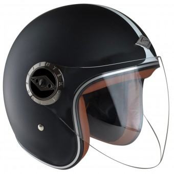 Casque Open Face Edguard Dirt Ed Heritage Black