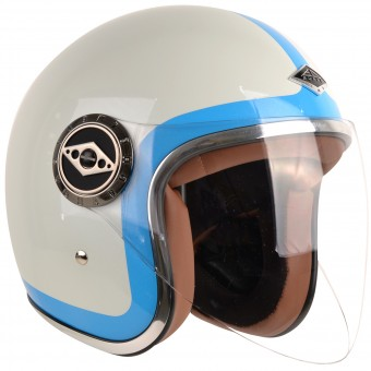 Casque Open Face Edguard Dirt Ed Heritage Blue