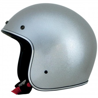Casque Open Face AFX FX-76 Silver Metal Flake