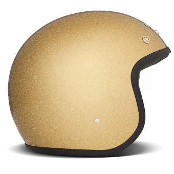 Casque Open Face Dmd Glitter Gold