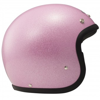 Casque Open Face Dmd Glitter Pink